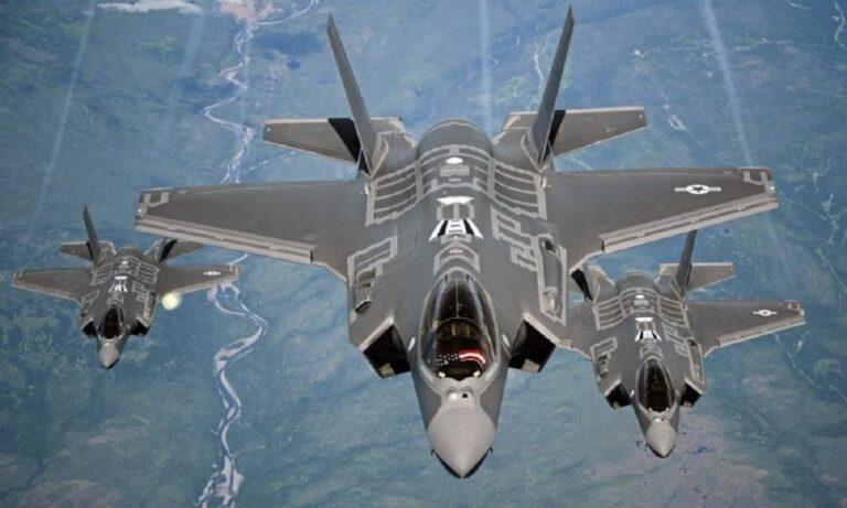 Τραμακτική στιγμή! Όταν ένα F-35 τυλίγεται στις φλόγες (vid)