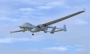 Ελληνοτουρκικά: Σκέψει για το ισραηλινό UAV «Hunter» με τεράστια ποικιλία εξοπλισμού.