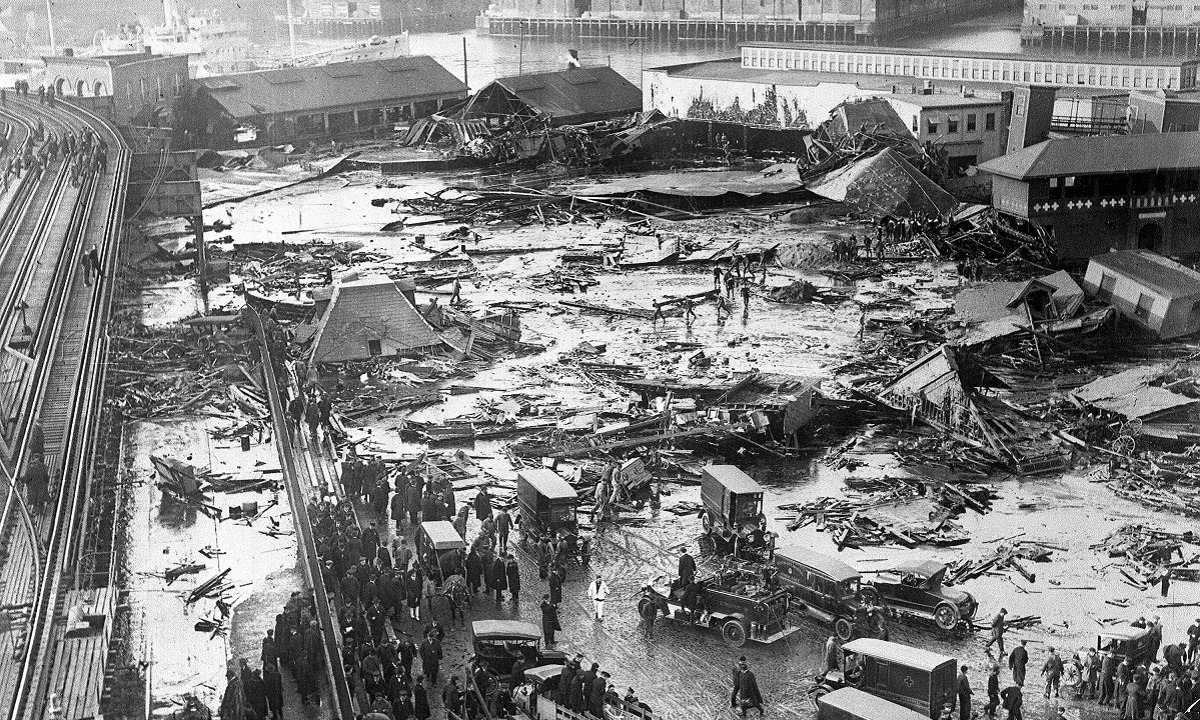 Η «Ζυθοπλημμύρα του Λονδίνου» που παρέσυρε στον θάνατο εννέα ανθρώπους (vid)