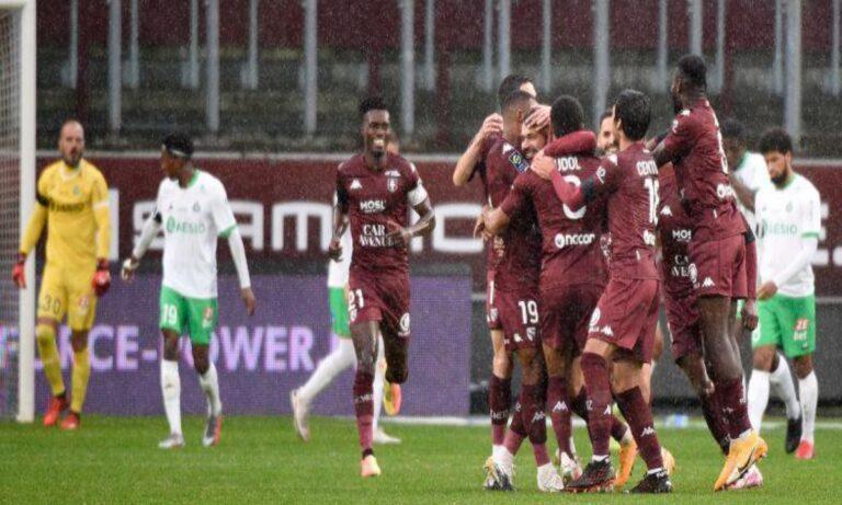 Μετς – Σεντ Ετιέν 2-0: Έχασε το παιχνίδι και τον Ρέτσο