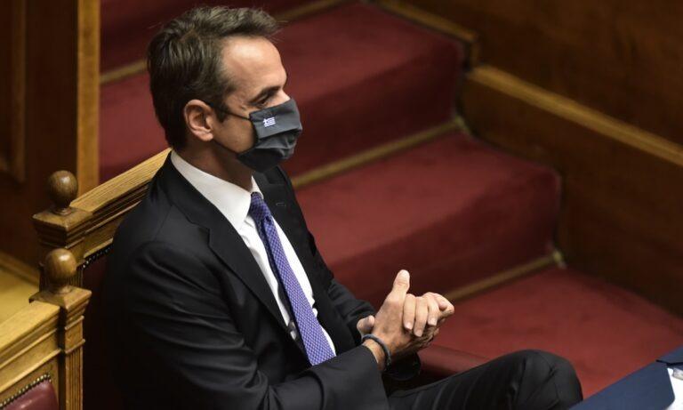 Κορονοϊός: Οι… οδηγίες του Κυριάκου Μητσοτάκη για τη σωστή χρήση μάσκας
