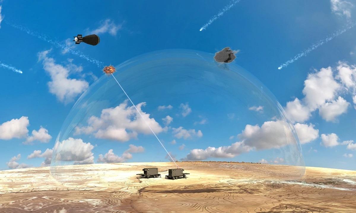 Ένοπλες Δυνάμεις: Iσραηλίτικο όπλο με λέιζερ καταστρέφει τα drones