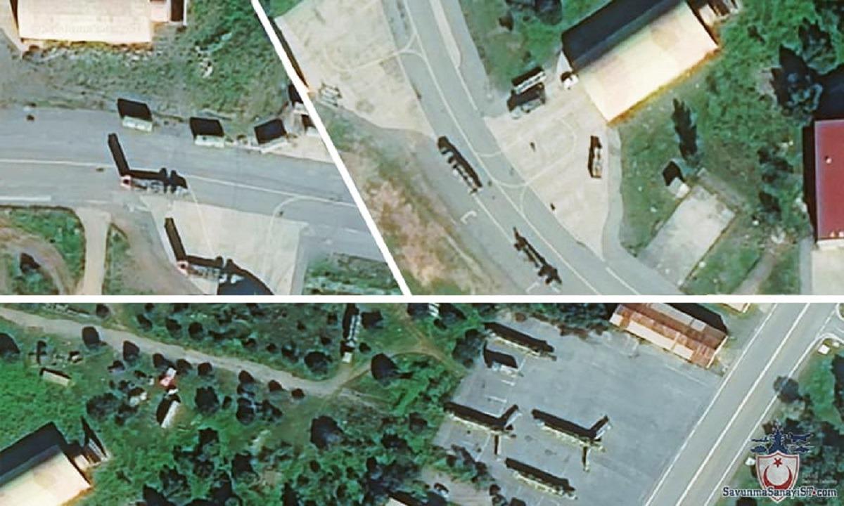 S-300: Η Άγκυρα δημοσίευσε δορυφορικές φωτογραφίες των ελληνικών αντιπυραυλικών συστημάτων