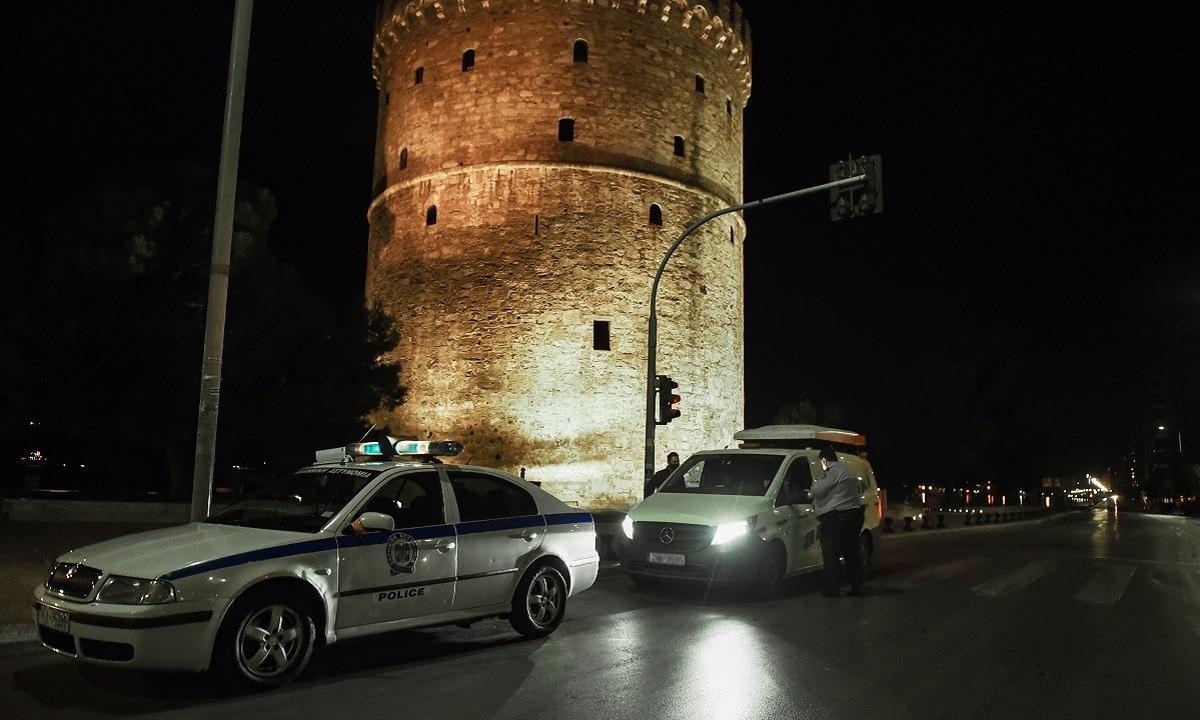 Θεσσαλονίκη – Απαγόρευση κυκλοφορίας: Άδεια πόλη λόγω μετά τις 12:30