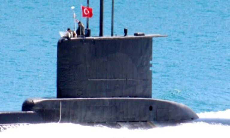 Τουρκικά υποβρύχια: Σε απόγνωση τα τουρκικά πληρώματα από τα ελληνικά σόναρ