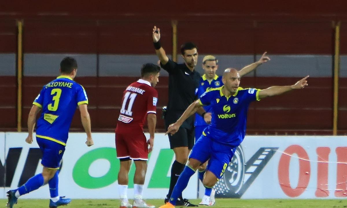 ΑΕΛ – Αστέρας Τρίπολης 1-3: «Καθάρισε» ο Μπαράλες – Δεν σηκώνουν κεφάλι οι Θεσσαλοί