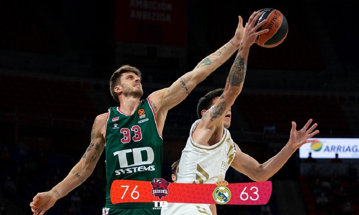 Μπασκόνια- Ρεάλ Μαδρίτης 76-63: Γερό… χαστούκι