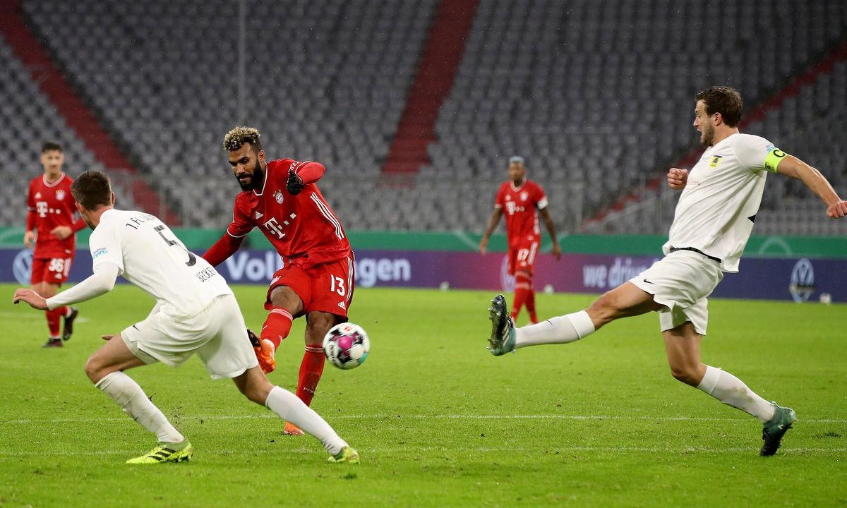 Ντούρεν – Μπάγερν Μονάχου 0-3: Άνετη πρόκριση με ντεμπούτο Τσούπο-Μότινγκ