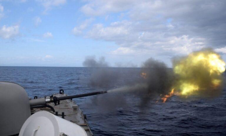 Ένοπλες Δυνάμεις:  Σοκ και δέος από τα ελληνικά πυρά στην Α. Μεσόγειο