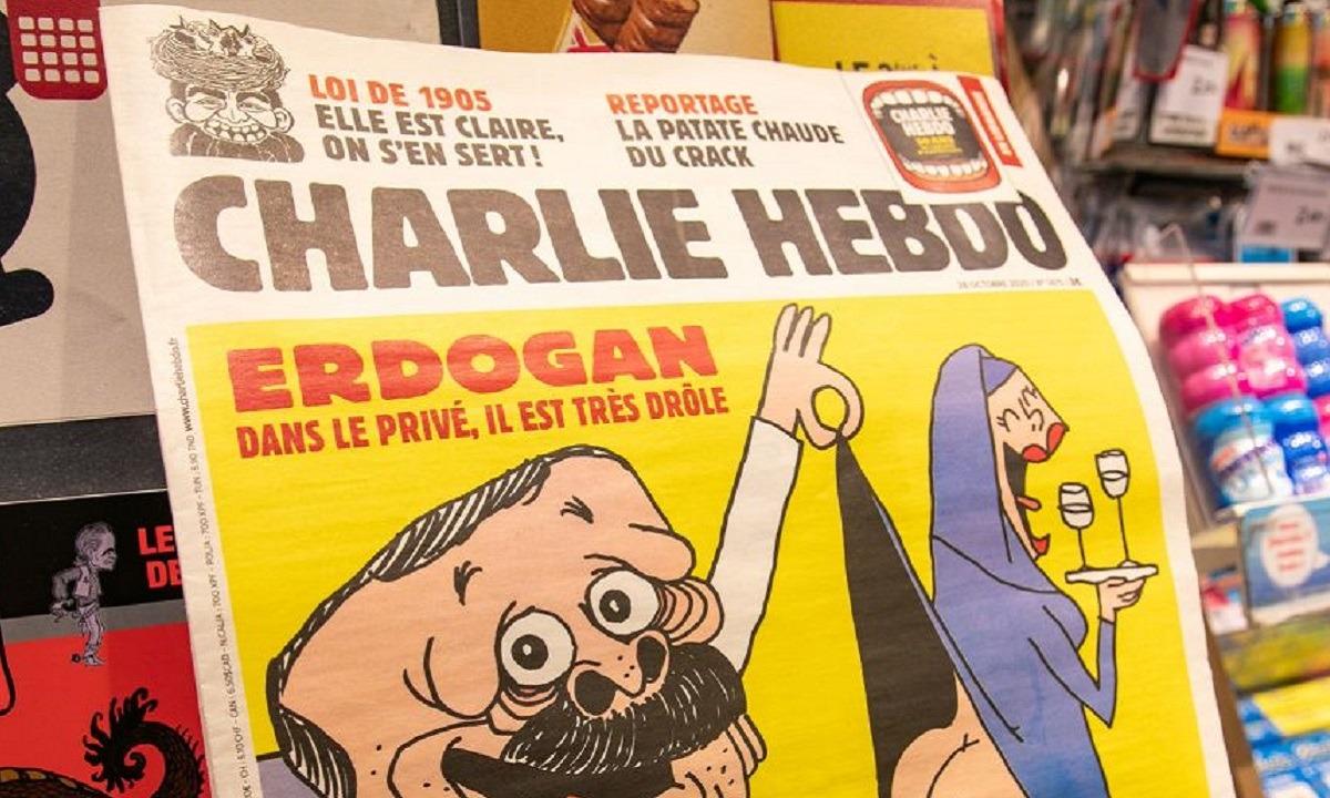 Γαλλοτουρκικός «πόλεμος» λόγω Charlie Hebdo! Δικαστικά και διπλωματικά μέτρα ετοιμάζει η Τουρκία