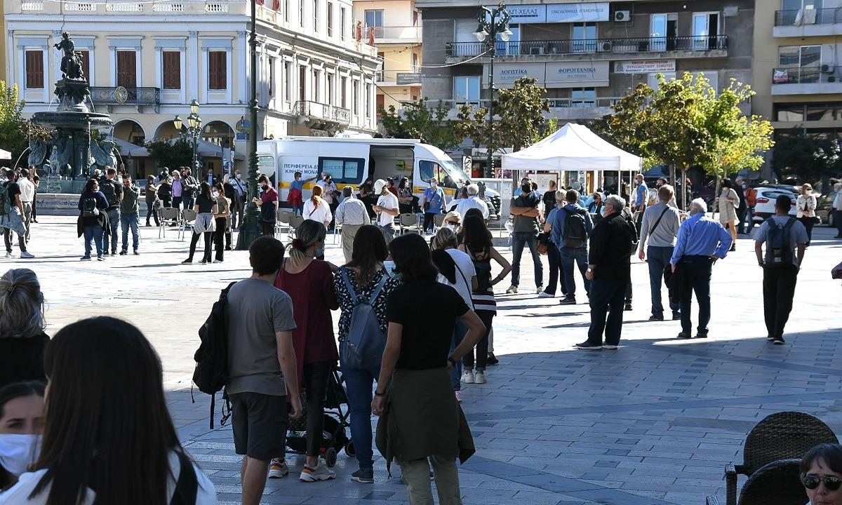 Θεσσαλονίκη: Θετικός μεγάλος αριθμός των rapid test στην παραλία