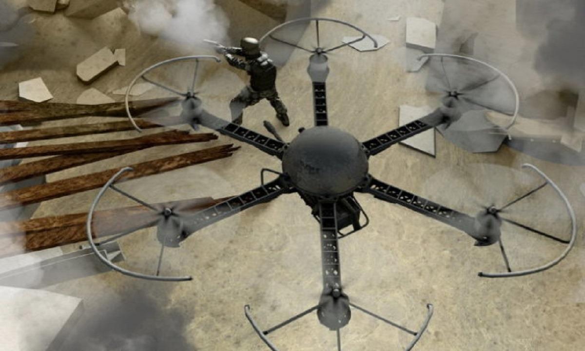 Βρετανία: Δοκιμάζουν το drone i9 με πολυβόλο