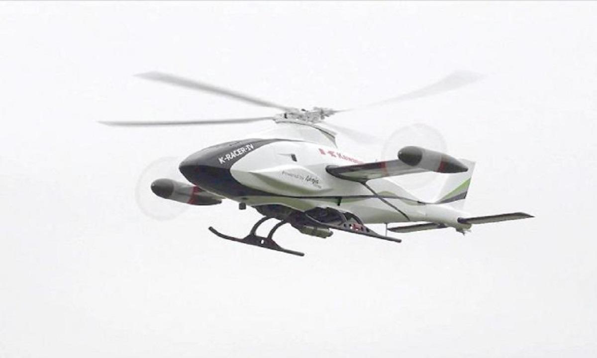Ιάπωνες: Έφτιαξαν άπιαστο drone με κινητήρα μοτοσικλέτας Kawasaki Ninja H2R