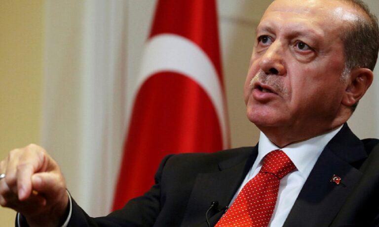 Έχει ξεφύγει ο Ερντογάν: Απειλεί ανοικτά με βία όλους τους αντιπάλους του!