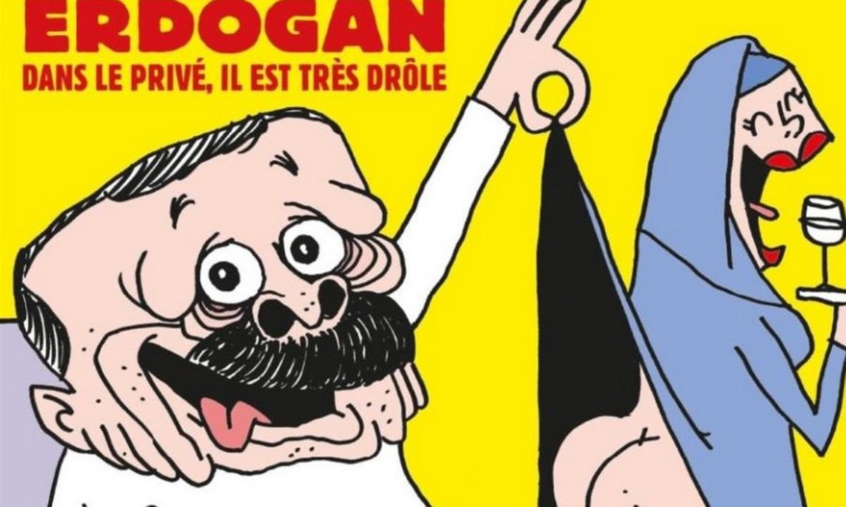 Charlie Hebbo: Χαμός με τον ημίγυμνο Ερντογάν- Επεισόδια με Μουσουλμάνους κατά της Γαλλίας!