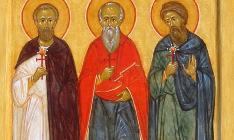 Εορτολόγιο Δευτέρα 12 Οκτωβρίου: Ποιοι γιορτάζουν σήμερα