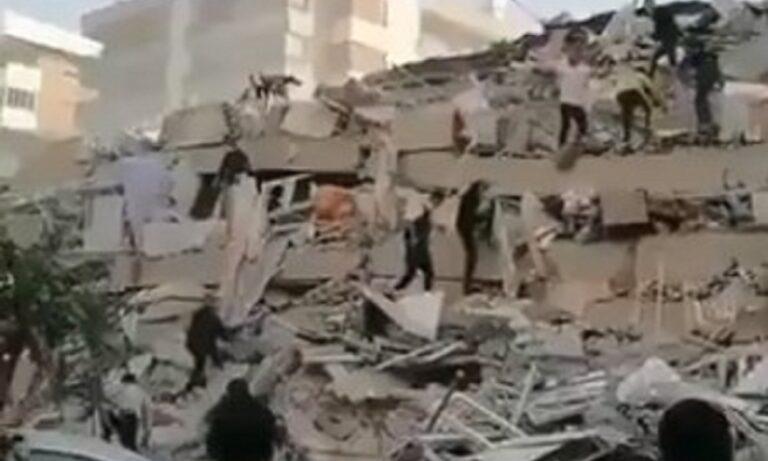 Σεισμός Σμύρνη: Τουλάχιστον τέσσερις νεκροί και 120 τραυματίες (vids)