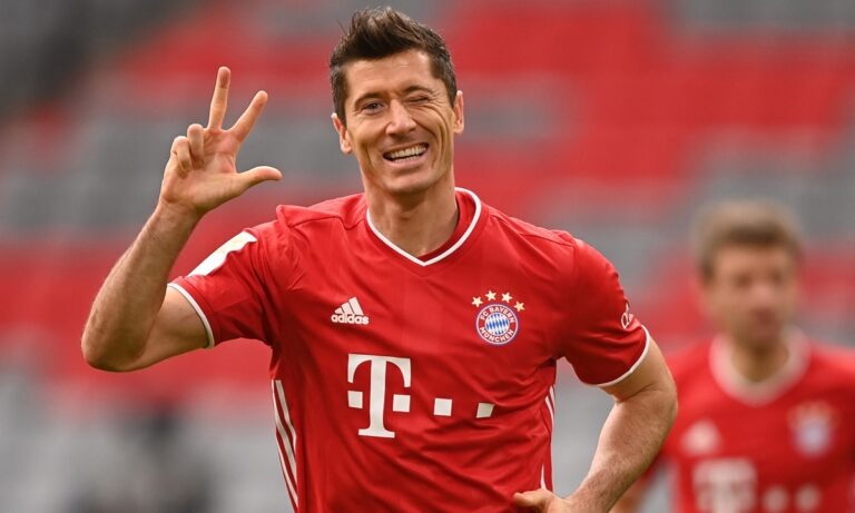 Bundesliga: «5άρα» η Μπάγερν, τρία γκολ ο Λεβαντόφσκι, αλλά πρώτη η Λειψία (vids)