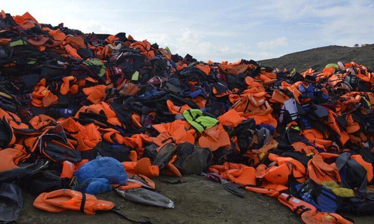 Λέσβος: Βρέθηκε λύση για τα 16.000 κυβικά σωσίβια