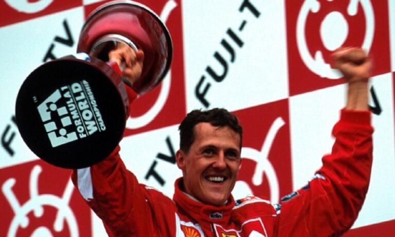 Μίκαελ Σουμάχερ: Σαν σήμερα (8/10) το πρώτο του πρωτάθλημα με τη Ferrari (vid)
