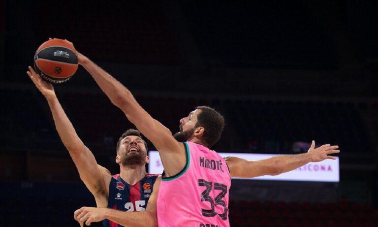 Euroleague: MVP Μίροτιτς και Γκριγκόνις