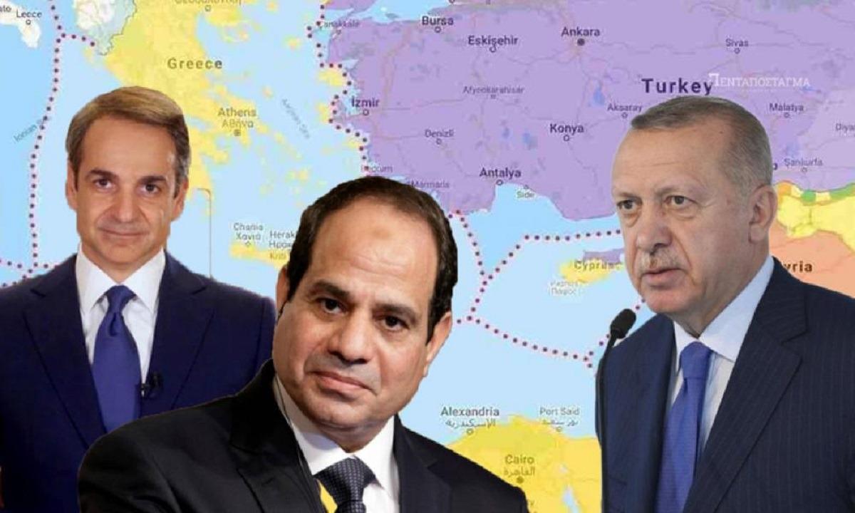 ΕΚΤΑΚΤΟ: Eπίθεση της Άγκυρας κατά Ελλάδας-Αιγύπτου: «Στόχος σας η Τουρκία» (vids)