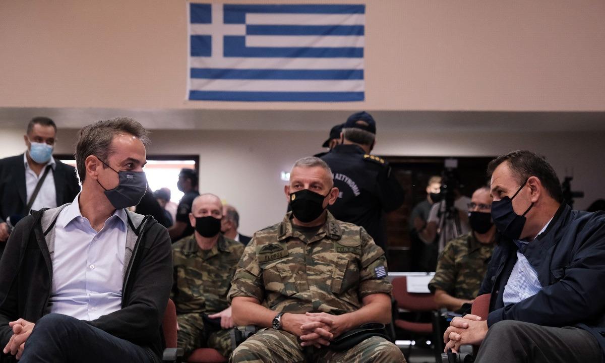 Μητσοτάκης: «Με τον φράχτη στον Έβρο νιώθουν ασφαλείς οι Έλληνες»