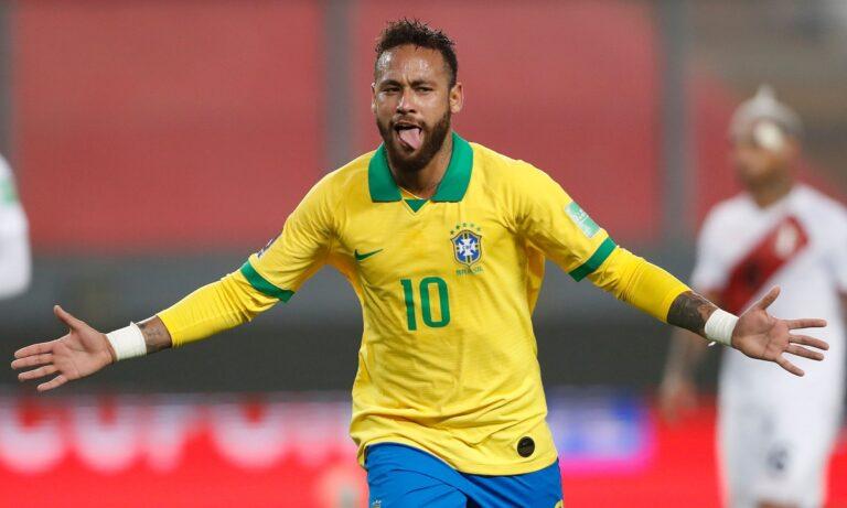 Περού – Βραζιλία 2-4: Ο Νεϊμάρ οδηγεί τη Σελεσάο, ξεπερνώντας τον Ρονάλντο!