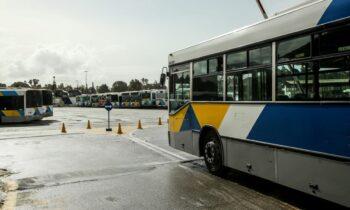 Απεργία λεωφορεία