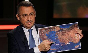 Προκλητικότατος ο Φουάτ Οκτάι στο CNN: «Θα κάνουμε έρευνες στη Κρήτη και όπου αλλού θέλουμε!»