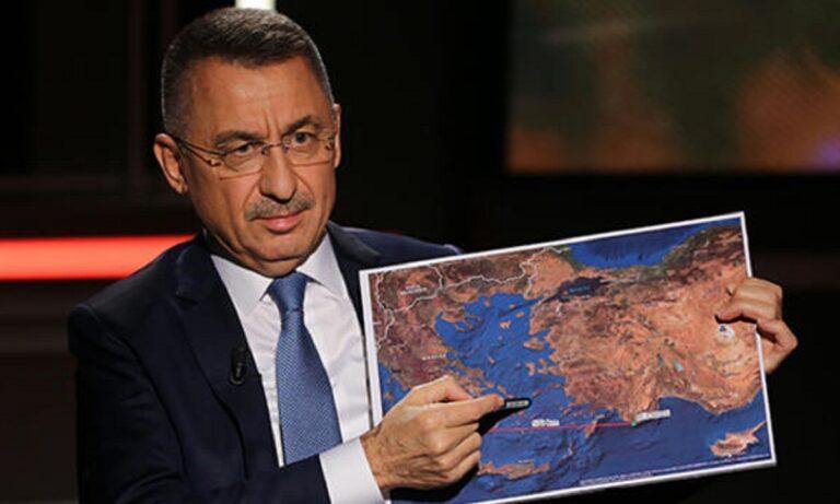 Προκλητικότατος ο Φουάτ Οκτάι στο CNN: «Θα κάνουμε έρευνες στην Κρήτη και όπου αλλού θέλουμε!»
