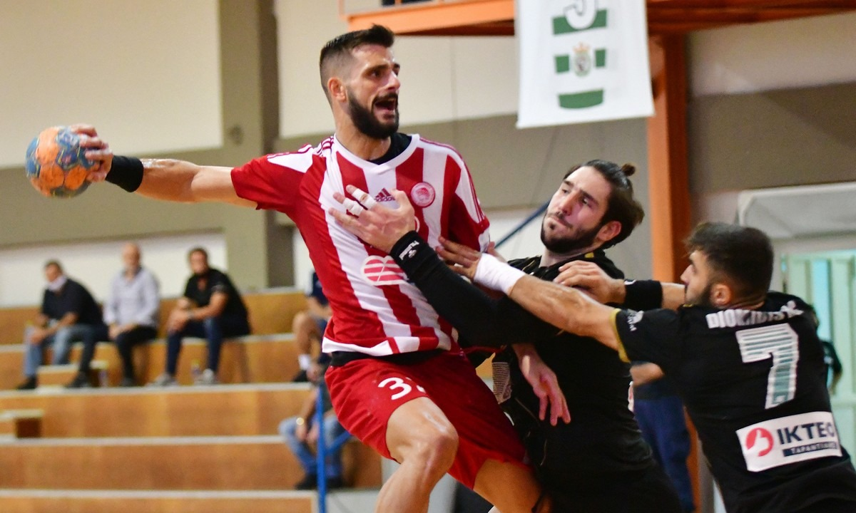 Handball Premier: Πέρασε από το Άργος ο Ολυμπιακός