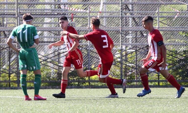 Super League Κ17: Ματσάρα και… Ολυμπιακός-Παναθηναϊκός 4-2