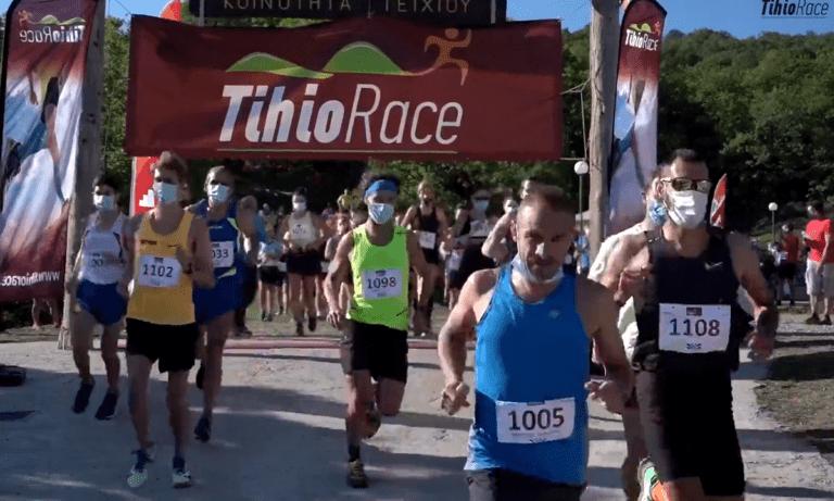 Ξεχωριστές στιγμές στους Αγώνες Ορεινού Τρεξίματος Tihio Race & Tihio Stage Race