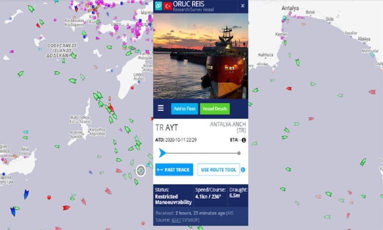 Kαστελόριζο: Τα ελληνικά υποβρύχια ψάχνει με όλα τα μέσα η Τουρκία – Έβγαλε το E-7T