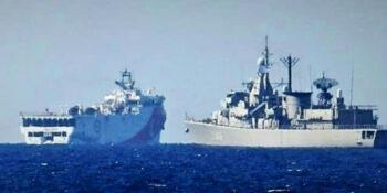 Oruc Reis: Το γύρο του κόσμου κάνει η είδηση ότι το ελληνικό Πολεμικό Ναυτικό έπιασε στον ύπνο τους Τούρκους και τους έστειλε... σπίτι.
