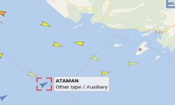 Ελληνοτουρκικά: Προς την Ρω κινείται με κλειστό πομπό το τουρκικό ερευνητικό πλοίο, Oruc Reis, ενώ το συνοδευτικό του τουρκικό πολεμικό πλοίο πέρασε σε τουρκικά χωρικά ύδατα