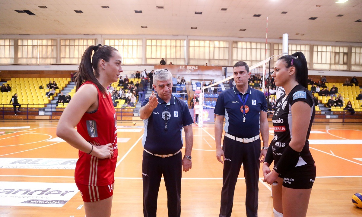 Volley League Γυναικών: Ντέρμπι Ολυμπιακός-ΠΑΟΚ στο πρόγραμμα της 3ης αγωνιστικής