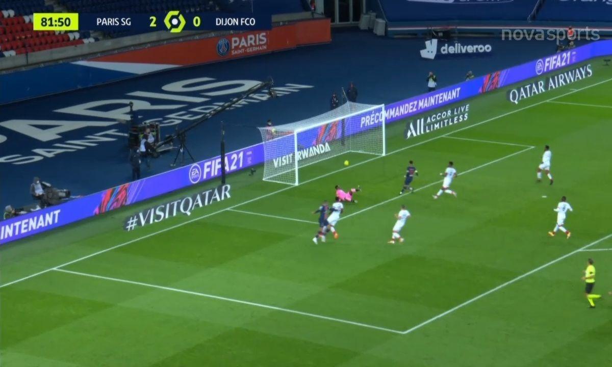 Παρί Σεν Ζερμέν – Ντιζόν 4-0: Στην κορυφή ξανά με Κιν και Εμπαπέ (vid)