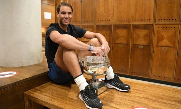 Για τον Ναδάλ το Roland Garros είναι σαν το σαλόνι του!