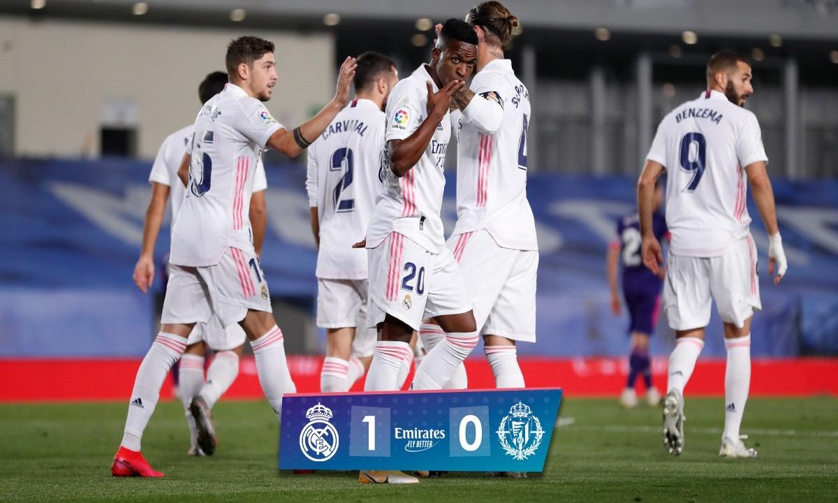 Ρεάλ Μαδρίτης – Βαγιαδολίδ 1-0: Με το ζόρι (vid)