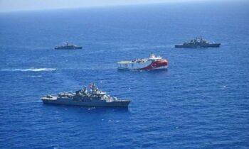 Διεθνή ΜΜΕ προεξοφλούν σύγκρουση στην Α. Μεσόγειο: «Προ των πυλών το θερμό επεισόδιο Ελλάδας - Τουρκίας»