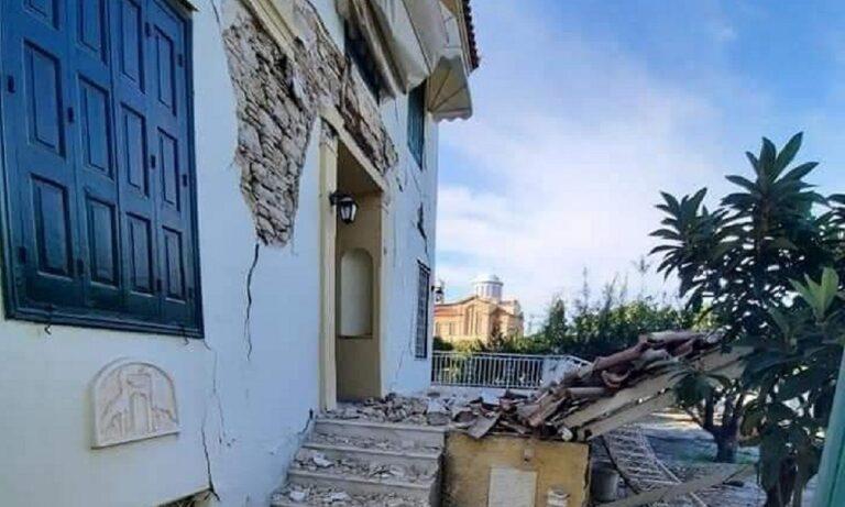 Σεισμός Σάμος: «Άνοιξαν» οι δρόμοι έτοιμα να καταρρεύσουν τα σπίτια! (video)