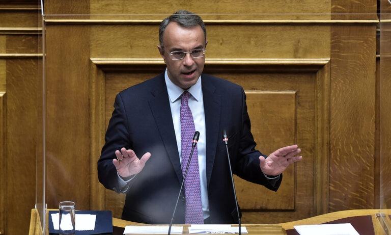Σταϊκούρας: Ανακοίνωσε την επέκταση οικονομικών μέτρων