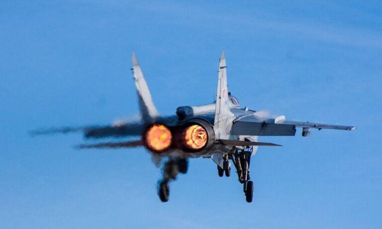 Ρωσία: Συντριβή μαχητικού αεροσκάφους στη ρωσική Άπω Ανατολή!