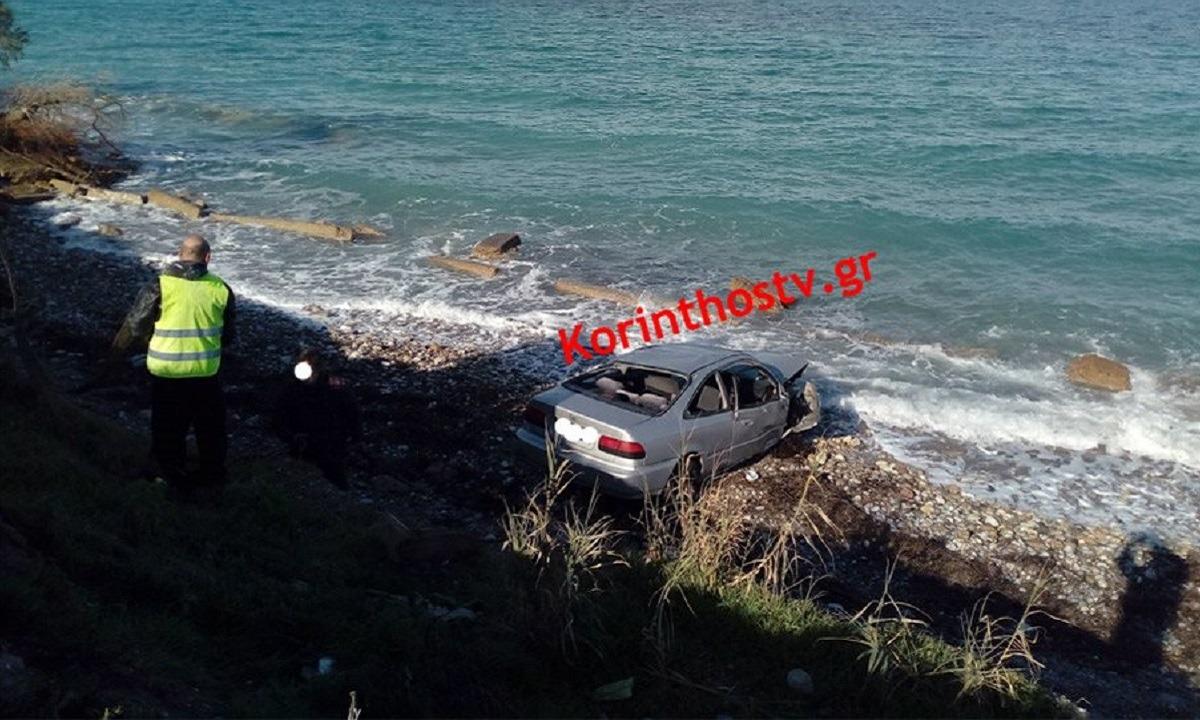 Ξυλόκαστρο: Φρικτό τροχαίο με μία νεκρή – Το αμάξι της έπεσε στη θάλασσα