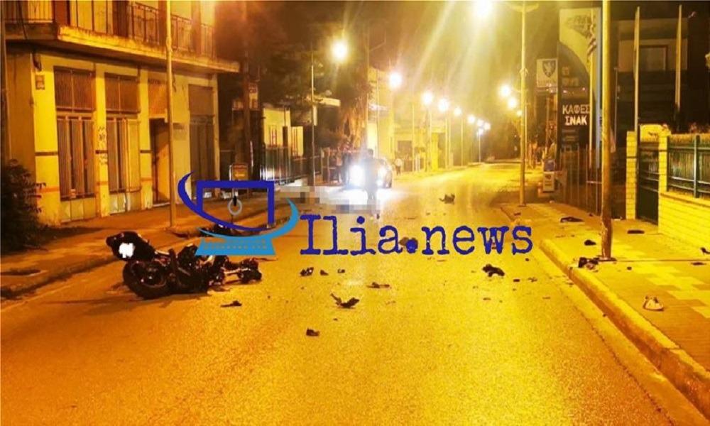 Αμαλιάδα: Τραγικό τροχαίο με μία 23χρονη νεκρή
