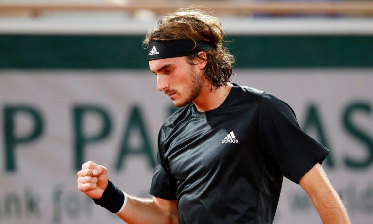 Τσιτσιπάς από «ατσάλι»: Για πρώτη φορά στους «8» του Roland Garros!