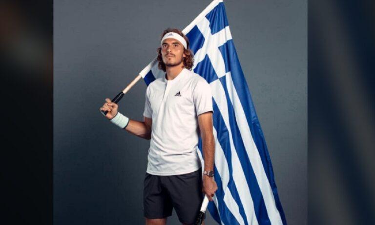 Τσιτσιπάς για το ΟΧΙ: «Κρατάω τη σημαία ψηλά. Αγάπη για το Ελληνικό Έθνος» (vid)