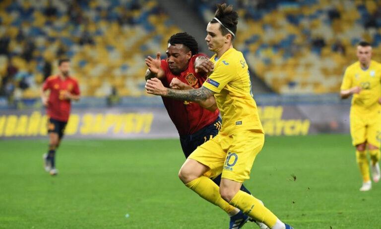 Nations League: «Χαστούκι» Ουκρανίας σε Ισπανία, «μπλόκο» Ελβετίας σε Γερμανία (vids)
